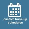 remote backup white label custom backup schedules